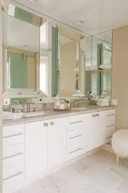 Beveled Bathroom Mirror Contemporary Bathroom Maison Luxe Home