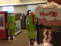 christmas office themes. Beautiful Looking Office Christmas Decorating Themes For 2016 Doors Funny M