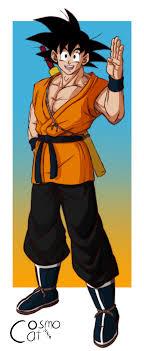 Goku Design My Goku Design Oc Dbz