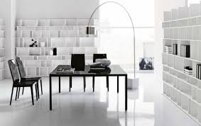interior contemporary black modern office. Cozy White Office Design Black And Contemporary . Interior Modern I