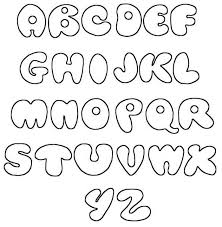 Bubble Letters Font Printable Letter Fonts Designs Download Them Or Print