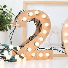 make your own light up marquee style numbers and letters for any occasion super easy you probably already have all of the bits