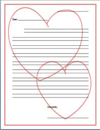 Valentines Day Letter Template Valentines Day Friendly Letter Template By Adrienne N Tpt