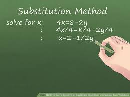 image titled solve systems of algebraic equations containing two variables step 3