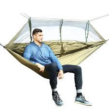 2019 <b>1 2 Person Outdoor</b> Mosquito Net Parachute Hammock ...