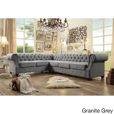 fancy tufted sectional sofa