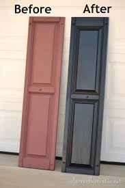 how to paint vinyl shutters by infarrantly creative need to repaint our black ones