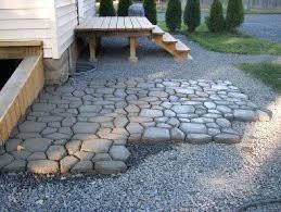 how to make a concrete patio how make concrete patio look like stone best how make