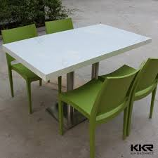 polished white used restaurant table and chair for white restaurant table 20