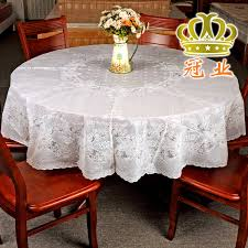 high quality pvc tablecloth round table cover 134cm 152cm 185cm in vast for loveable 5