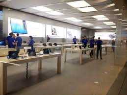 apple store interior stockholm at the desk youll get help from geniuses home decorators promo apples office