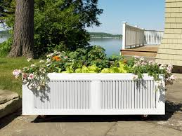 ci susan teare raised bed planter on wheels recycled shutters s4x3