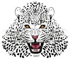 Vektorová Grafika Vektorové Leopard V Podobě Tetování 6968378