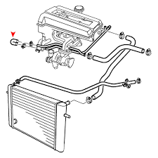 Uro parts® engine coolant bypass hoseuro
