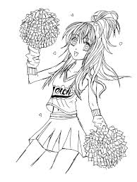 Small Picture Fresh Cheerleader Coloring Pages 47 On Coloring for Kids with