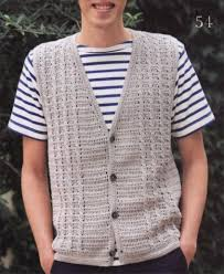 Mens Vest Pattern Free New Decorating Design