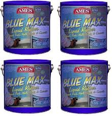 4 ea ames bmx1tg blue max gallon trowel grade liquid rubber waterproofing ames blue max l33