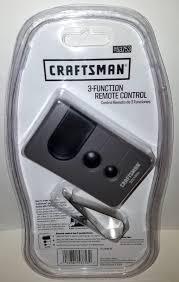 sears craftsman 53753 black on 315mhz garage door opener remote