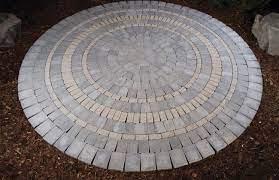 barkman circle patio kit kakwa stone