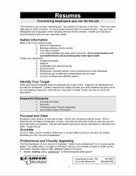 Deciding On The Resume Format Starengineering