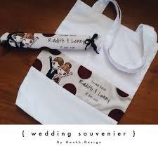tote bag wedding souvenir affordable by hankh design bridestory com