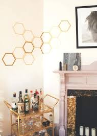 honeycomb wall decor how to make a totally removable honeycomb wall decal jade and fern honeycomb honeycomb wall decor