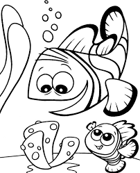 Fish coloring pages which are suitable for boys and girls. Two Fish Printable Picture For Kids Topcoloringpages Net