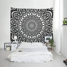 boho tapestry mandala wall art zoom