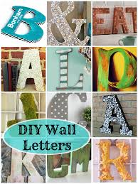 diy letters letter a crafts diy wall