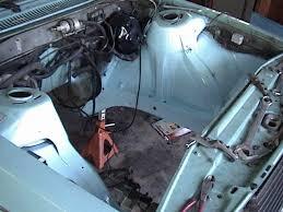 1984 volvo 240 engine. i prepared the engine bay for installation of engine. 1984 volvo 240