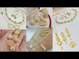 light weight gold combo sets chain