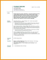 Job Resume Examples For College Students Awesome Job Resume Samples For College Students Topshoppingnetwork