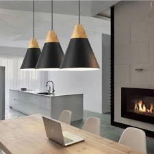 bedroom pendant lights. 3X Wood Pendant Light Kitchen Ceiling Lights Black Lighting Bedroom Lamp