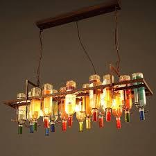 three light unique retro wrought iron industrial large pendant lights unusual uk