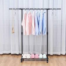 yoi extra long portable closet hanging clothing clothes garment rack with without wheels