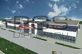 Купить дипломный Проект № Комплексный диплом на человека  3d модель торговый центр 2 jpg