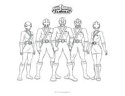 Free Power Ranger Coloring Pages Mighty Rangers Online Children