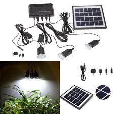 diy solar led light kit aaa batteries for garden lights power panel usb charger home