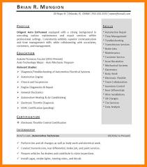 8 Intern Resume Examples Emt Resume