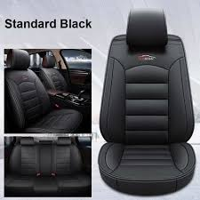 details about car 5 seat leather seat cover cushion for toyota camry corolla rav4 front rear