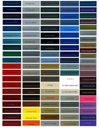 Car Paint Colors Chart Blue Paint Colors For Cars Blue Automotive Paint Chart Paint