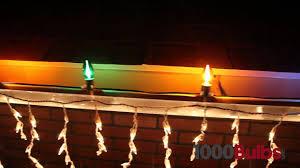 C9 Christmas Lights Opaque Yellow C9 Christmas Light Bulbs