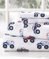 fashions white monster truck sheet