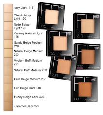 Maybelline Fit Me Foundation Shade Chart Details About Maybelline Fit Me Pressed Powder Choose Your