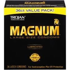 magnum xl size magnum large size xl condoms 12ct walmart com