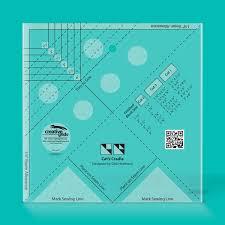 Creative Grids USA ® & Cat's Cradle Tool Quilt Ruler Adamdwight.com