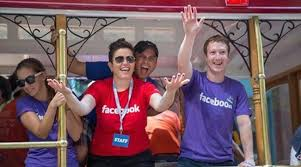 Image result for zuckerberg gay parade Lgbt advocate