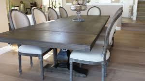 pecan trestle dining table by jeff santini