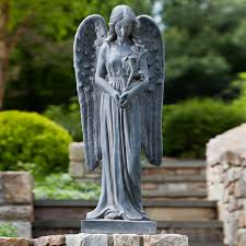 garden angel statues. Creative Ideas Garden Angel Statues Incredible Amp Cherub On Hayneedle W