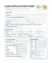Loan Application Form 14 Loan Application Form Bussiness Proposal
